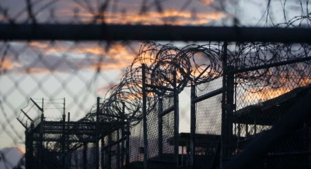 Camp X-Ray, Guantanamo Bay (Photo: AP)